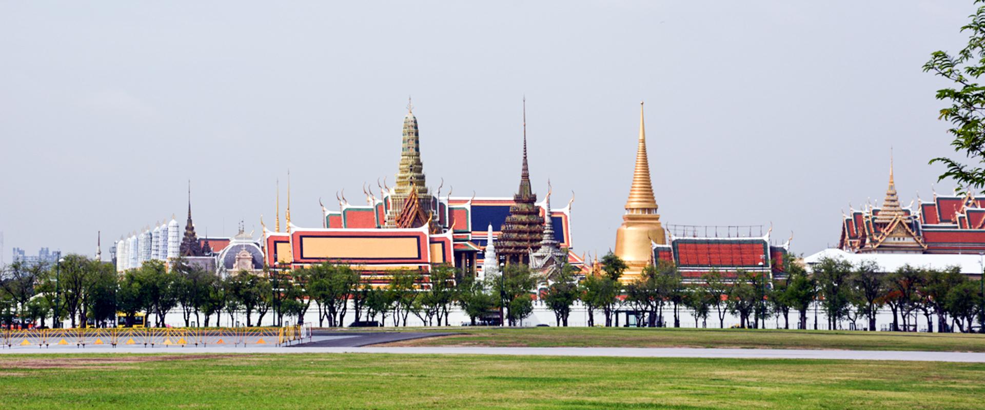 Jeden den v Bangkoku