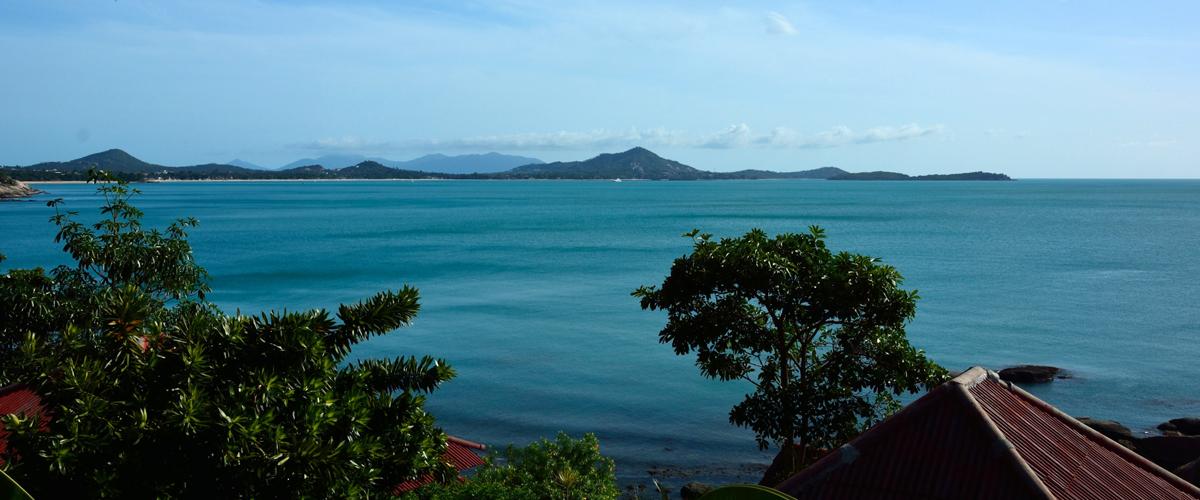 Na skútru po ostrově Koh Samui