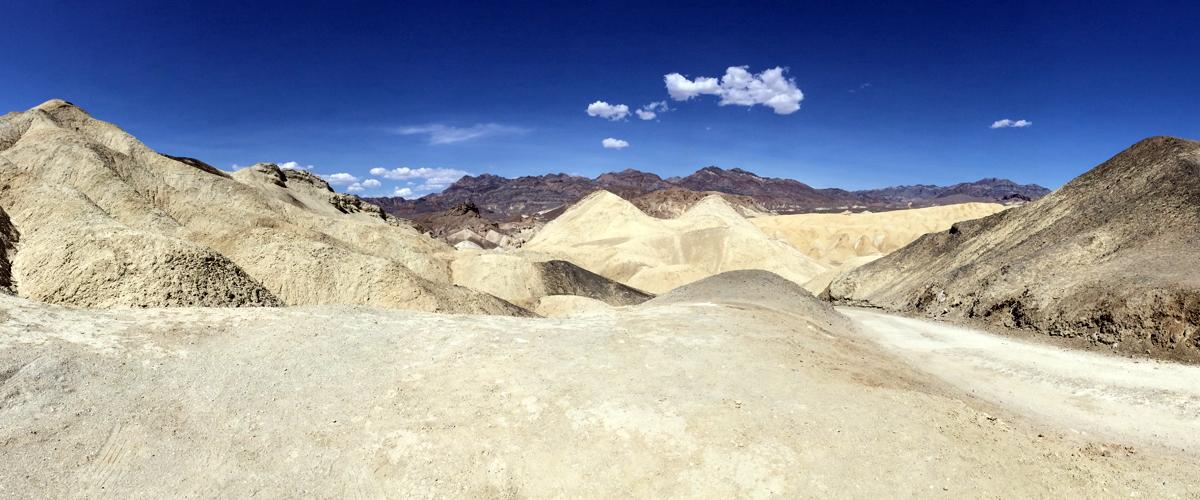 100 fahrenheitu v Death Valley